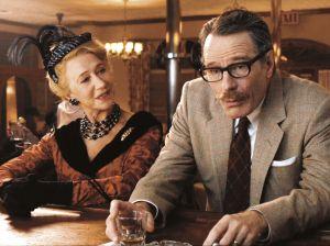 Helen Mirren e Bryan Cranston: Hedda Hopper e Dalton Trumbo.