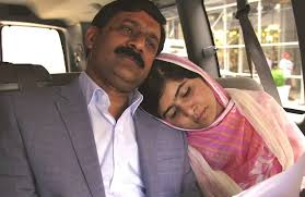 Malala e o pai...