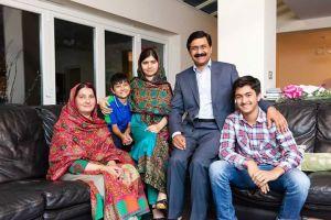Foto com a família...