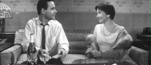Jack e Shirley em The Apartment.