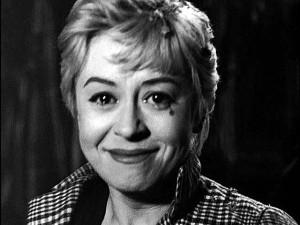 "O sorriso na cena final de ""Noites de Cabíria"" (1957)."