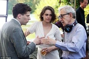 """Woody Allen em ação em """"Café Society""""."""