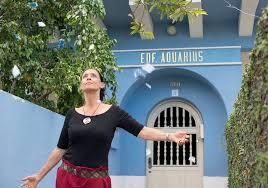 A moradoura e seu edifício Aquarius