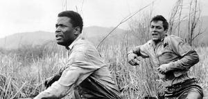 """""""Acorrentados"""", com Tony Curtis e Sidney Poiter, outro filme mencionado..."""