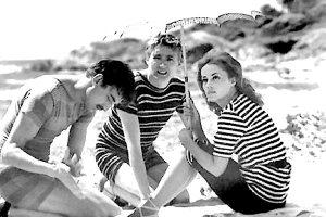"Cena em ""Jules et Jim"" (1961)."