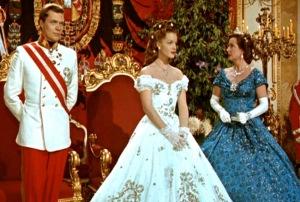 """Uma cena de """"Sissi, a imperatriz"""", visto em 1960, no Cine São José."""