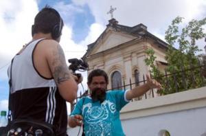 Pedro visto em Jaguaribe, seu bairro de origem.