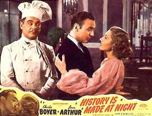 """""""A história começou à noite"""", 1937, de Frank Borzage."""
