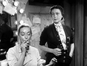 Thelma Ritter em A Malvada, com Bette Davis.
