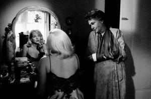 Os Desajustados (1960): Thema Ritter com Marilyn Monroe.