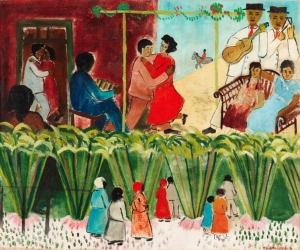 Baile no campo, 1937, de Cicero Dias.