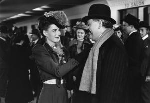 """Dúvida"", com Charles Laughton, 1944."