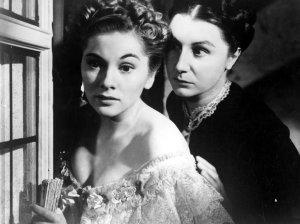 """A ausente mais famosa está em """"Rebeca, a mulher inesquecível"""". 1940."""